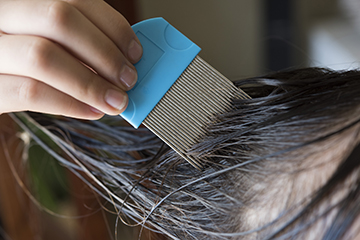 Helping kids avoid head lice at summer camp