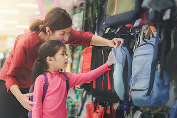 Planning ahead can help families manage back-to-school costs and stress
