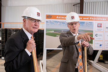 OSU's new Animal Nutrition and Physiology Center to benefit all of Oklahoma, and beyond