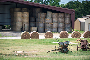 Spontaneous combustion a possibility with wet hay