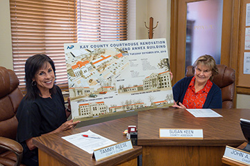 Kay County Extension helps out local government with communications assistance