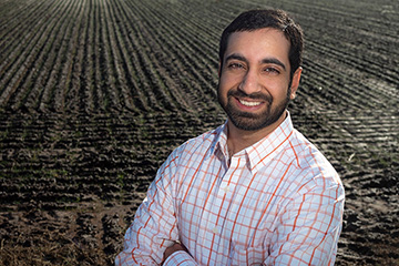 Irrigation expert Sharma named to Oklahoma Panhandle Research and Extension Center staff