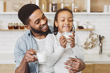 Dairy products continue to be popular purchase in households with children