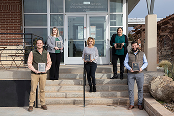 Oklahoma County Extension Office receives award of excellence