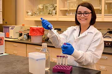 OSU graduate student receives scholarship; attends food safety conference
