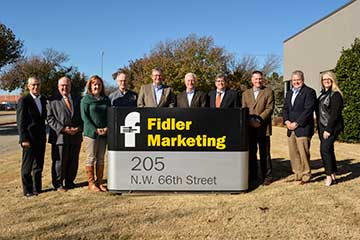 FAPC advisory board meets at Fidler Marketing, tours Clements Foods