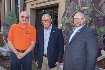 OSU professors recognized by national agricultural organization