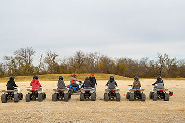Staying safe when riding ATVs