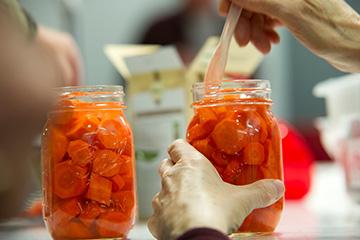 Canning produce requires careful recipe