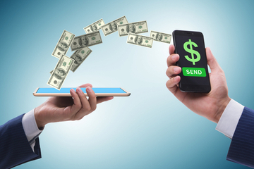 Be cautious when using apps to transfer cash