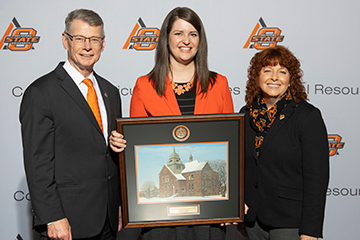 CASNR honors Cortney Cowley with Alumni Early Career Achievement Award