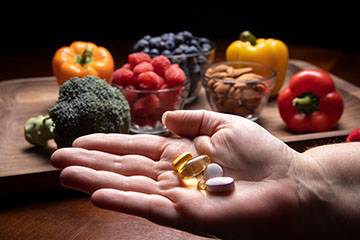 Supplements are no substitute for good nutrition