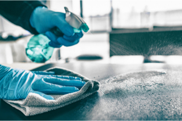 Tips for cleaning homes following COVID-19 diagnosis