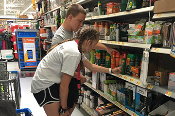Cherokee County 4-H'ers lend a hand with flood relief