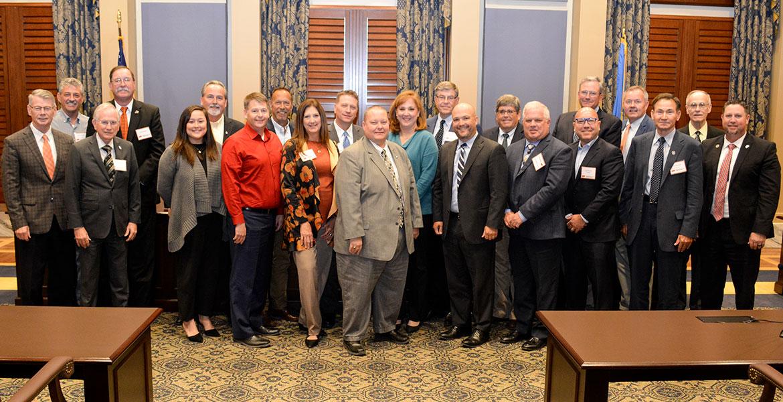 Food industry leaders meet with legislators at State Capitol