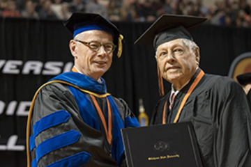 CASNR graduates walk across the stage decades after earning degrees