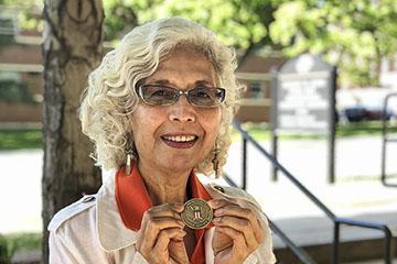 OSU faculty member awarded volunteer service award