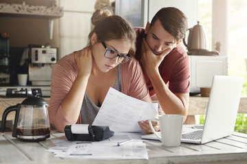Prioritize bills during times of financial stress