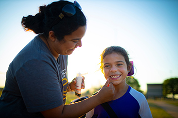 Sunscreen is a must year-round in order to protect skin
