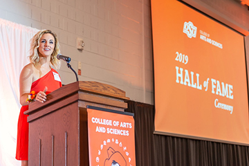 College of Arts and Sciences honors 25 alumni at Hall of Fame Ceremony