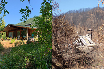 After escaping Oregon wildfire, former OSU professors look to the future