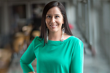 Psychology alumna researching suicide prevention in Native communities