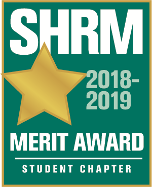 SHRM Student Chapter Merit Award logo