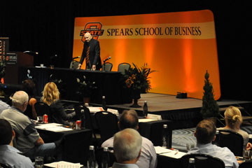 OSU School of Accounting presents annual accounting conferences in Tulsa