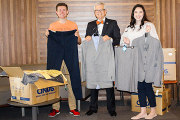 Cintas helping OSU business students dress for success with clothing donation