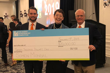 Two OSU students win international business plan competition in Toronto