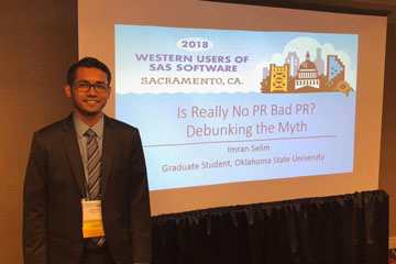 Master's in Business Analytics students represent OSU at SAS Software Conference