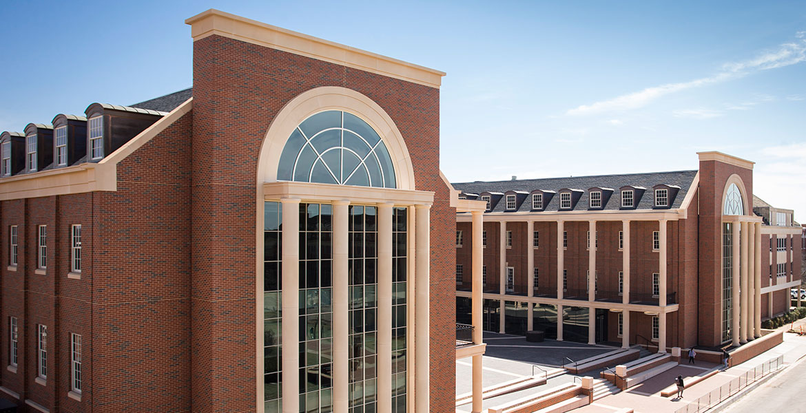 OSU's Business Building opened in January.