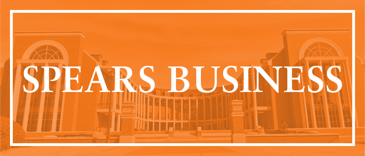 Tom Brown and Audrey Gramling are new department heads in the Spears School of Business.