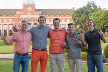 Five Spears Business students selected Top 20 Freshmen Men