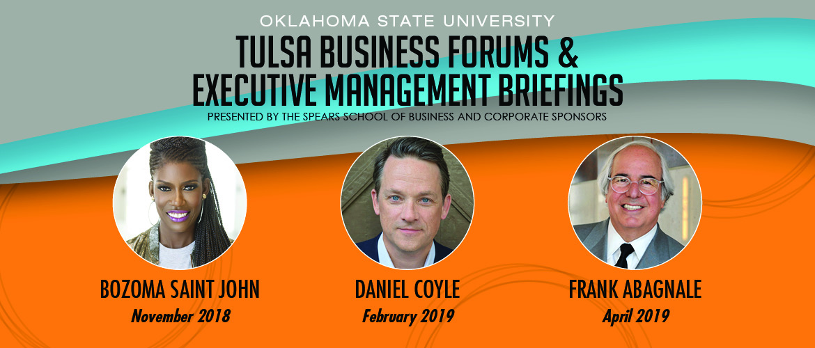 Tulsa Business Forums and Executive Management Briefings speakers