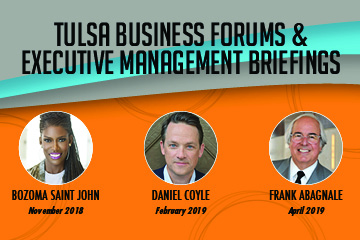 Spears School of Business unveils names for Tulsa, Oklahoma City business speaker series