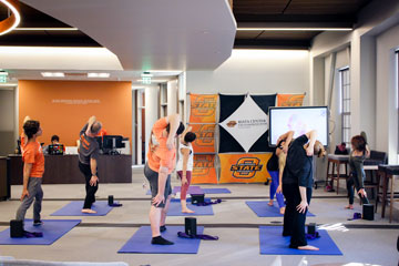 Riata Center offering stress relief through yoga
