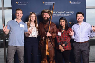 MBA students travel to West Virginia for Big 12 Case Competition