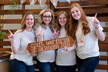 HTM students power success of Craft Beer Forum