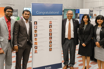 OSU business analytics students win scholarships at MWSUG conference