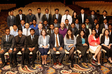 Spears School data mining students impress during SAS Analytics 2014 Conference