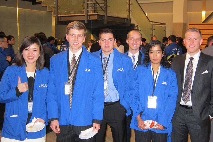 SSB students at Rotman International Trading Competition