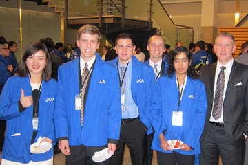 Spears School students earn top-20 finish  in prestigious Rotman Trading Competition