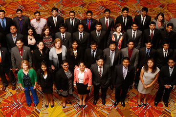 Spears School students succeed at SAS Analytics 2013 Conference