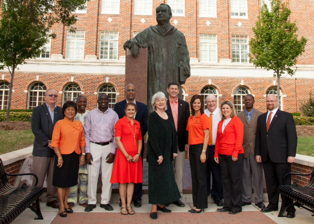 Photo of OSU professors involved in project