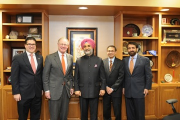Ambassador Taranjit Singh Sandhu speaks to OSU about U.S.- Indo relations