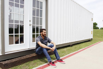 OSU business student realizes big dream in small container
