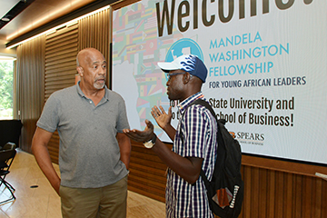 Young African business leaders learn at OSU
