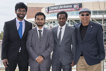Graduate students place fourth at South Carolina's Big Data Case Competition