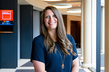 Spears School's Sarah Johnson honored with 2021 Outstanding Accounting Educator Award
